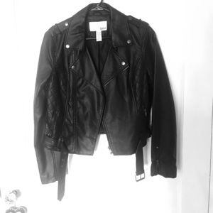 Bar III faux leather jacket - WORN ONCE size M